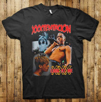 Wholesale inspire man - XXXTENTACION Inspired Revenge tour Hip hop Rap T-shirt Black S - 3XL