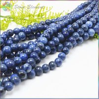 Wholesale 8mm jasper beads - Natural Dumortierite Stone   Jasper Loose   Faceted Round Beads 8mm