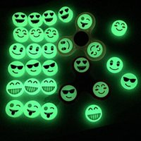 Wholesale counter for finger - 3PCS Luminous Light counter weight For Fidget Hand Spinner Torqbar Finger Toy Dropship Y1115
