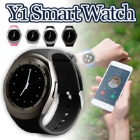 Wholesale y1 smart watch for sale – best Y1 Bluetooth Smart Watch With Built In SIM Card Slot IPS Round Water Resistant Smart Watch For Android System with Retail Package