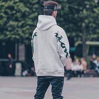 kadınlar için kaliteli hoodies toptan satış-EN KALITELI Kutusu Logo x Cham Kapşonlu Kazak Moda Bahar Sonbahar Hoodies Kazak Sokak Rahat Basit Erkekler Kadınlar Hoodies HFYMWY104