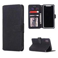 Wholesale xperia wallet - Vintage Retro Textures PU TPU Wallet Case Slots Card Pocket for iphone X 8 7 6 Plus Google Pixe 12 XL Samsung S9 Plus Note 8 Xperia XA1