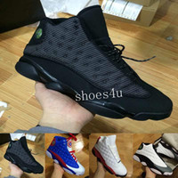 Wholesale good cheap mens shoes - [With Box] 2017 Factory Store Mens New 13 13s Low Basketball Shoes Sneakers Cheap Good Quality XIII Original Quality shoes