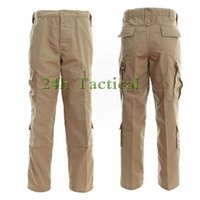 Wholesale hunting pants for men - Wholesale-Men Camouflage Hunting Pants Outdoor Sports Trousers For Army Tactical Hiking camping Fishing S-XXL
