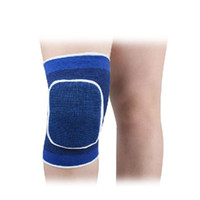 Wholesale knees protector online - Sport Safety Basketball Sports Kneepad Flexible Colorful Cavernous Kneecap For Protector Knee Pads Unisex Collision Hot Sale hw X