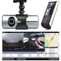 """Wholesale quality text - 2018 High Quality 2.7"""" Vehicle 1080P Car DVR Camera Video Recorder Dash Cam G-Sensor GPS Dual Lens"""