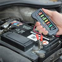 Wholesale tester 12v digital for sale - 12V Digital Automotive Car Battery Load Tester Car Test Tools Universal for Car Motorcycle Auto with LED Lights Display New