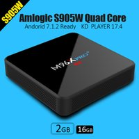 Wholesale Hd Software - 2018 s905W Android TV Boxes KD 17.4 fully loaded with Android7.1 OS WIFI Lan Internet 4K free movies software OTA update