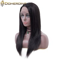 Wholesale mongolian human hair wigs for sale - Group buy Malaysian Lace Front Human Hair Wigs For Women Malaysian Remy Hair Wigs Lace Front Human Hair Wigs For Women