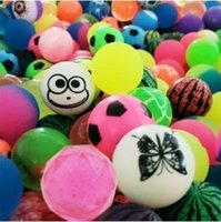 Wholesale loot kids gift bags - Colorful Bouncy Balls Birthday Party Supplies Loot Bag Toy Filler Jet Balls for Kids Small Bouncy Balls Party Gifts CCA9536 200pcs