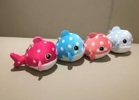 Wholesale stuffed plush fish resale online - New Cute Little Ocean Fish Stuffed Animal Plush TOY DOLL Colors CM Little Pendant Baby Educational Plush Toy key chain toys