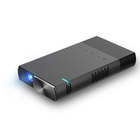 Wholesale small ships manual resale online - DLP micro home and office integrated projector S1 HD wired screen projector Small and light DHL