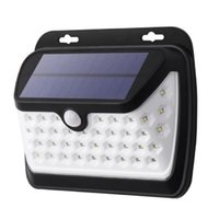 Wholesale outside security - Outdoor Solar Lights 42 LED Bright Motion Sensor Security Wall Light with 3 Modes Wireless Waterproof IP65 Night Lights for Outside Wall
