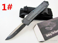 Wholesale Dual Action - HIght Recommend scarab 10 models dual action Hunting Folding Pocket Knife Survival Knife Xmas gift for men 1pcs freeshipping