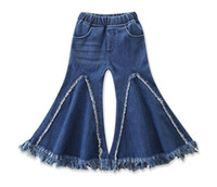 Wholesale newest clothing styles online - Girls Children s Harem Pants Clothing Fashion Girl Kids Jeans ins Newest Summer Enfant Trousers Enfant Clothes High Quality
