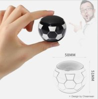 Wholesale new products computers resale online - 2018 explosion models electronic products new TWS box World Cup football Bluetooth speaker mini speaker