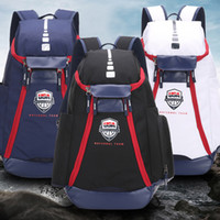 Wholesale bowling sports cartoons resale online - Fashion USA Bag Men Backpacks Basketball Bag Sport Backpack School Bag Outdoor Backpack Multifunctional Package Knapsack Laptop Bags