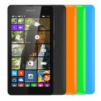 7609ff9b616 Reacondicionado Original Nokia Lumia 535 Windows Phone 5.0 pulgadas Quad  Core 1 GB de RAM 8 GB ROM 5MP Cámara 3G Desbloqueado Teléfono Móvil Free  Post 1pcs