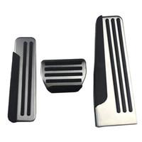 fußstütze großhandel-Fußstütze Pedalabdeckung Pads Für Infiniti Q50 Q60 Q70 QX50 QX70 G25 G35 G37 M25 EX FX Auto Styling