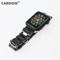 schau mal ohne tags an großhandel-Keramisches neues Entwurfs-Uhrenarmband für AppleWatch-Zusatz-Uhr-Bänder 22mm 24mm hochwertiges neues ohne Umbau-Uhrenarmbänder Großverkauf