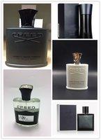 Wholesale Perfume Lady - LADY Fashion sweety MAD & no five Aventus creed GREEN IRISH TWEED SA Creed sliver mountain  EDP BLUE water perfumes for men