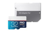 New PRO Blue White64 128 256GB C10 TF Flash Card 10 Free SD Adapter Retail Blister Pack Epacket DHL Free Shipping