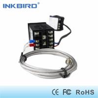 Wholesale household sensor resale online - Inkbird Dual Digital PID Temperature Controller AC DC V SSR Relay Output ITC VL K sensor DA SSR