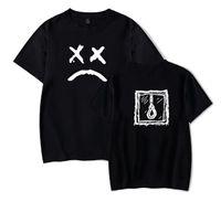 schlechtes mannt-shirt großhandel-Lil Peep Brief Drucken Bad Mood Patern Design Männer Frauen Hip Hip T-shirt Sommer Bequeme Beiläufige T-stücke Tragen Liebhaber Mode T-shirt