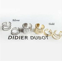Wholesale punk rock knuckle ring resale online - 1 Set Punk Gold Silver Rings Female Anillos Stack Plain Band Midi Mid Finger Knuckle Rings Set for Women Anel Rock Jewelry