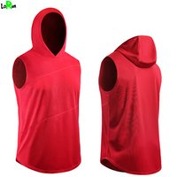 Wholesale Customized Fitness - LoRun Sport Running T Shirt Men Breathable Quickly Drying Gym Fitness Tank Tops Outdoor Sport Clothing Sportswear for Team Customize Logos