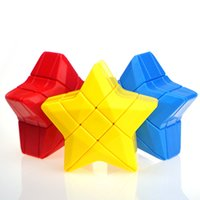 Wholesale toy tools for kids online - Magic Cube Mini Star Shape Creative Kids Puzzle Toys Strange Design Cube For Adults Decompression Tools High Quality yj Z