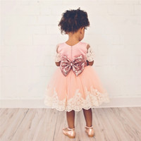 547d2c713859 Newborn Baby Girl 1 Year Birthday Outfit Pleated lace dress Baby Baptism  Dresses For Girl Infant Party Dress Tulle Kids Vestido