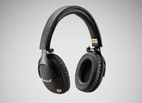 Wholesale bluetooth monitors resale online - Marshall Monitor Bluetooth Wireless Headphones DJ Hifi Headset Noise Cancelling Sport Earphone For Iphone X Plus S9 Cell Phone ePacket
