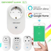 Wholesale remote uk plug online - Orvibo Smart Socket Plug APP Remote Control US EU AU UK Standard Switch