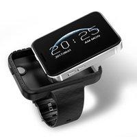 mp4 relógio telefone venda por atacado-I5S Smart Mobile Assista MP3 MP4 Player sono Monitor de pedômetro construído em câmera GSM SIM telefone mini Smartwatch para Android