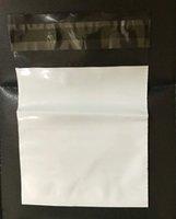 embalagem de saco de plástico pequena venda por atacado-Novo 11 * 11 + 4 cm pequeno Branco Poli Mailer Mailing Embalagem de Bolso Express Mail Courier Envelope De Armazenamento De Plástico Mailers Pack Bag