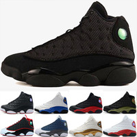 Wholesale 13 s basketball shoes hyper royal He Got Game Altitude Wheat Bred DMP Chicago black cat mens s trainers Sports Snerkers size