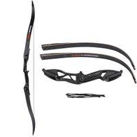 arrows for crossbow großhandel-Professionelle 56 Zoll 30-50 £ Armbrust Pfeil Set Bogenschießen Jagd Takedown Metall Recurve Bogen rechte Hand Ziel