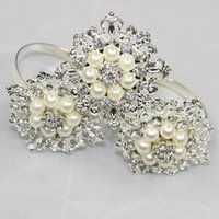 Shop wedding decorations diamond pearls uk wedding decorations wholesale 12pcs free shipping hot metal diamond pearl napkin rings serviette holder wedding and hotel supplies decoration party favor junglespirit Choice Image