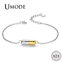Wholesale umode bracelets resale online - UMODE New Fashion Sterling Silver Bracelet for Women Jewelry Bangles Female Elegant Accessories for Bridal ULB0119