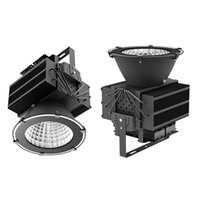 Wholesale bay lamps for sale - Group buy 1000W floodlights high bay lamp Super bright led flood light w led badminton court light with years warranty