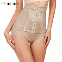 Wholesale postpartum panties - Postpartum Corset Waist Trainer Women Underwear Slimming High Waist Briefs Adjustable Tummy Control Panties Girdles Body Shapers