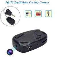 автомобильная портативная камера оптовых-ключи от машины камера Бесплатная доставка Портативный автомобильный ключ camerasVideo рекордер видеокамера Mini DV DVR PQ115