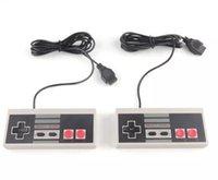 controlador de juego de mini joystick al por mayor-Controlador para el mini NES (versión china) Mini NES clásico juego de consola controlador Gamepad para Nes 500 y 620 párrafo Gamnew