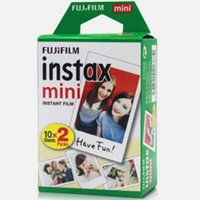 Wholesale wholesale polaroid cameras for sale - Instax White Film Intax For Mini S s Polaroid Instant Camera DHL free
