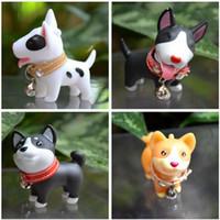 ingrosso giocattolo del cucciolo dei capretti-Lovely Pet Puppy Dog Micro Bonsai Ornamenti Micro paesaggio Terrario Vinile Toy Dog Regalo di compleanno per bambini