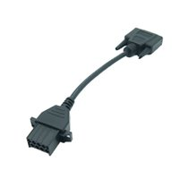 Wholesale nexiq software - SN88890027 Volvo 8 Pin Adapter Cable for Nexiq USB Link 125032 + Software Diesel Truck Diagnose Interface