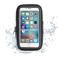 fahrrad wasserdichte telefon fällen großhandel-201809280218 Universal Wasserdichte Halterung Für Handys 360 Grad Fahrrad Fahrrad