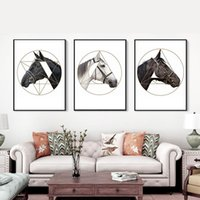 Wholesale art panels for sale for sale - 3 Panel Canvas Print Wall Art Painting for Living Room Decor Home Decorations TB Sale