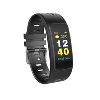 i6 smart wristband оптовых-New I6 HRC Smart Bracelet Color LCD Screen Wristband Heart Rate Monitor Fitness Activity Tracker Sports Smartband Waterproof